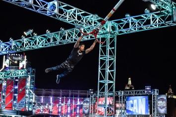"AMERICAN NINJA WARRIOR -- ""Las Vegas Finals Night 2"" Episode 1014 -- Pictured: Najee Richardson -- (Photo By: David Becker/NBC)"