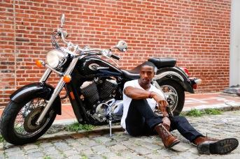 Biker, Shot by Leo Richardson